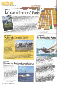 Voile magazine - article