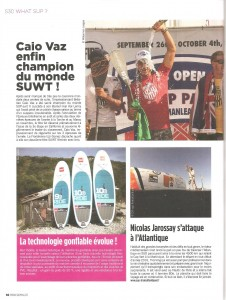 Stand Up Paddle magazine - article